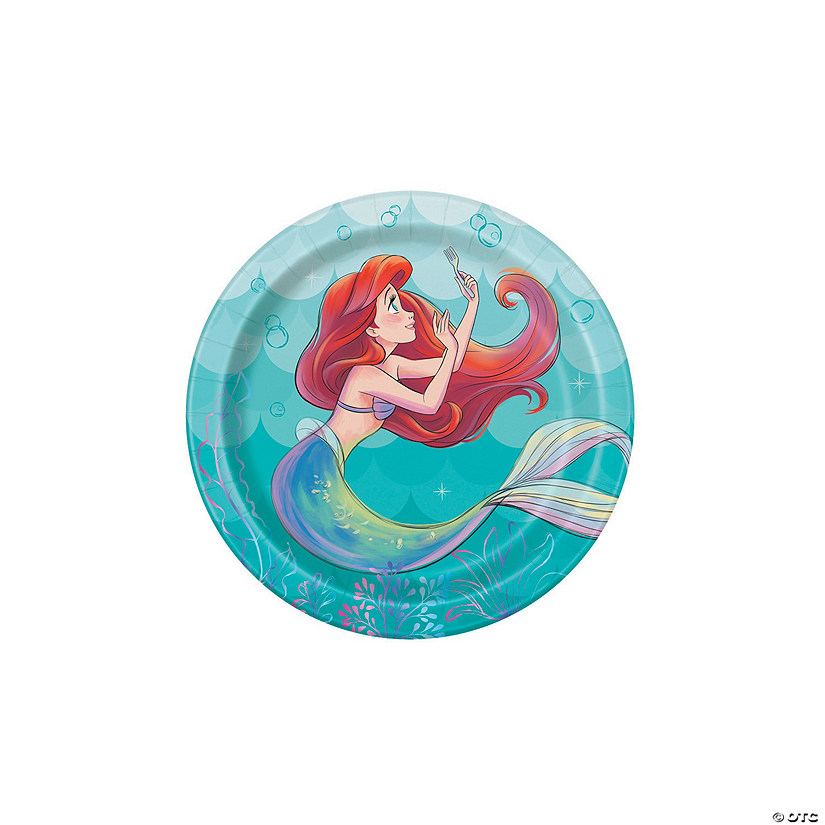 Disney The Little Mermaid™ Ariel Paper Dessert Plates Audio Thumbnail