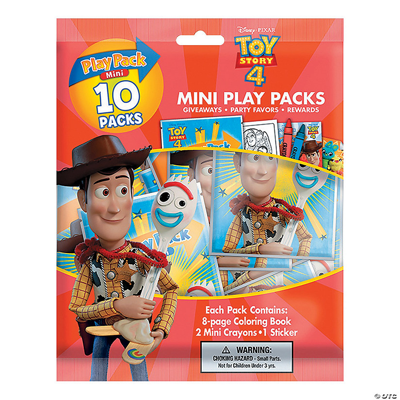 Disney Toy Story™ 4 Mini Stationery Play Packs Image Thumbnail