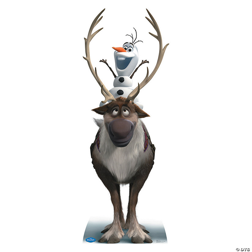 Disney's Frozen Sven & Olaf Cardboard Stand-Up Audio Thumbnail