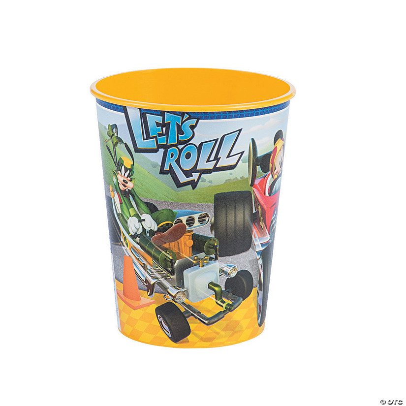 Disney's Mickey & the Roadster Racers™ Plastic Favor Cup Audio Thumbnail