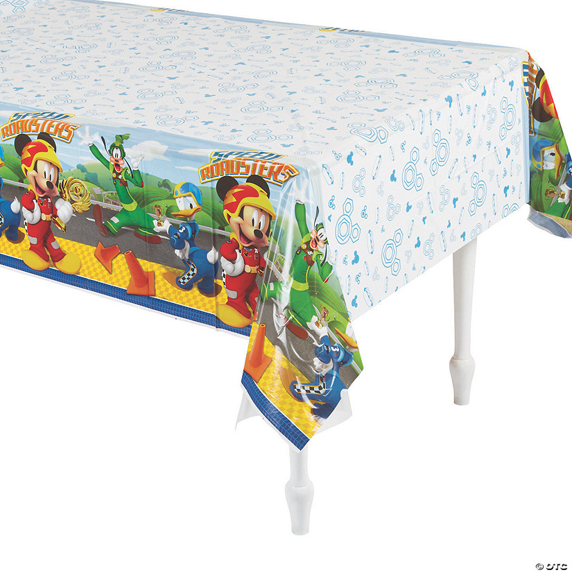 Disney's Mickey & the Roadster Racers™ Plastic Tablecloth Audio Thumbnail