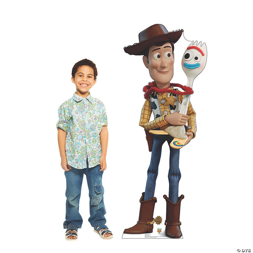 Disney's Toy Story 4™ Woody & Forky Cardboard Stand-Up Audio Thumbnail