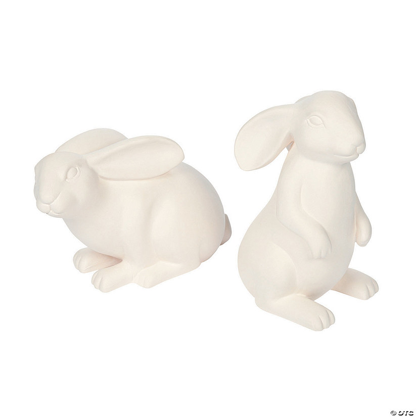 DIY Ceramic Easter Bunnies Audio Thumbnail