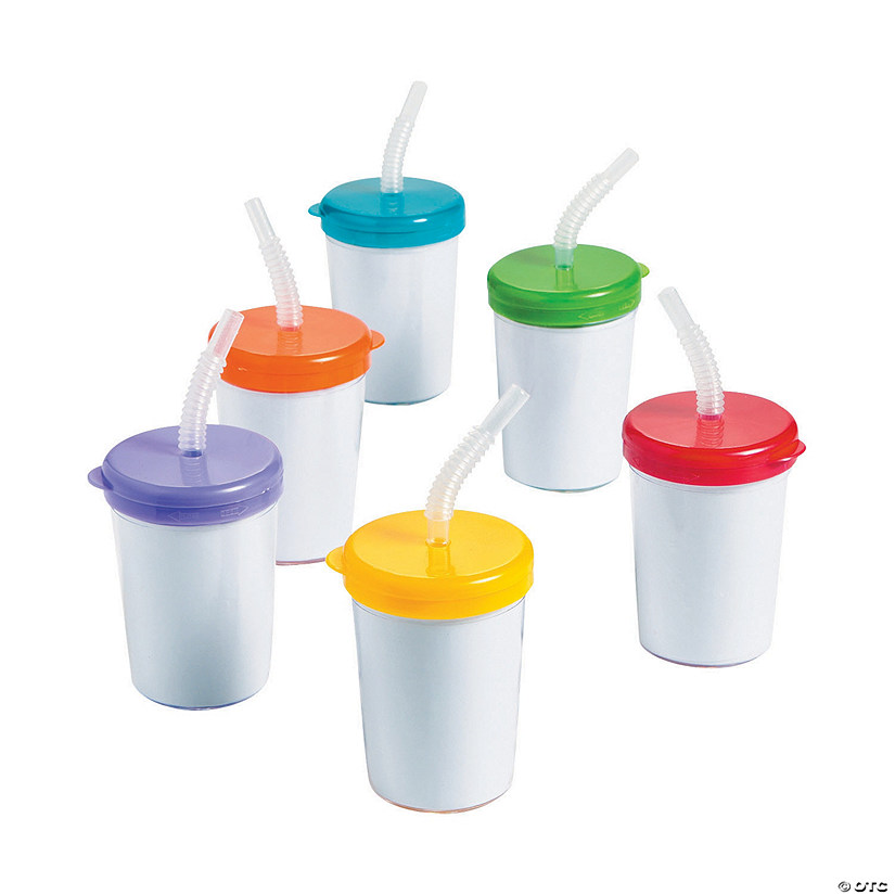 DIY Cups With Lids & Straws - 48 pcs. Audio Thumbnail