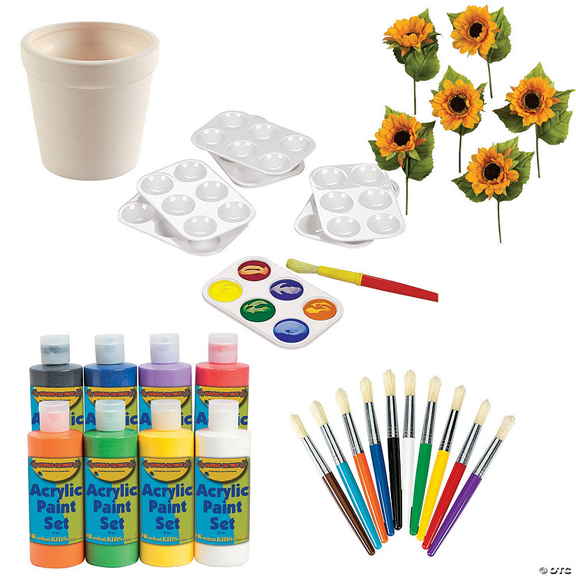 DIY Flower Pot Kit Image Thumbnail
