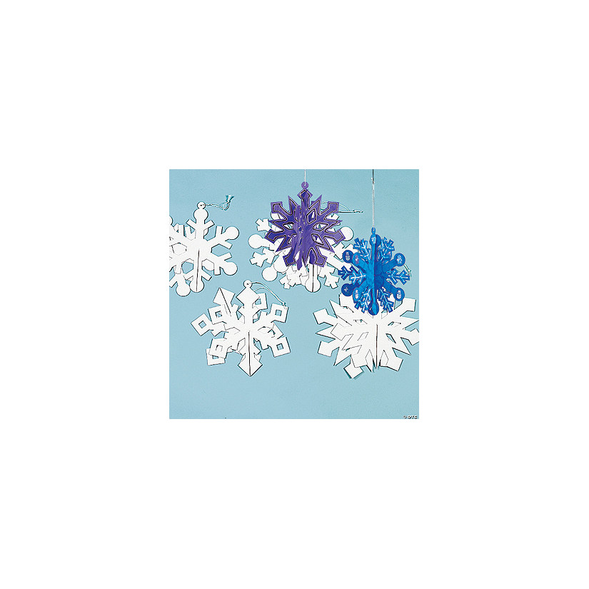 Diy Giant 3d Snowflake Ornaments Discontinued
