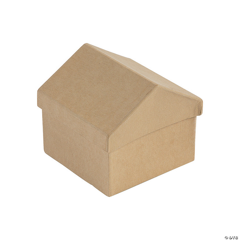 DIY House-Shaped Boxes
