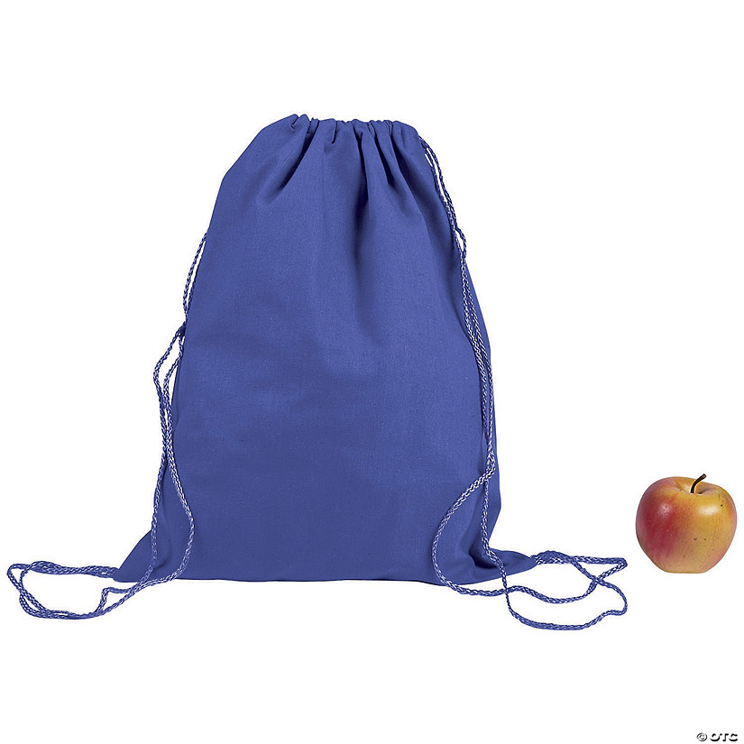 DIY Large Purple Canvas Drawstring Bags Audio Thumbnail