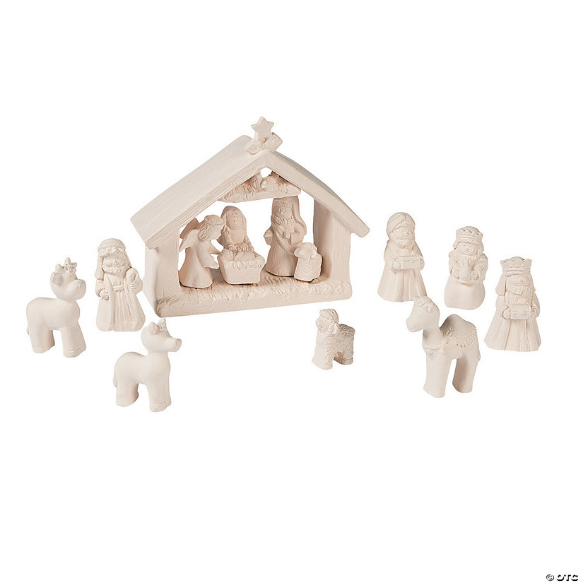 DIY Mini Nativity Set - Discontinued