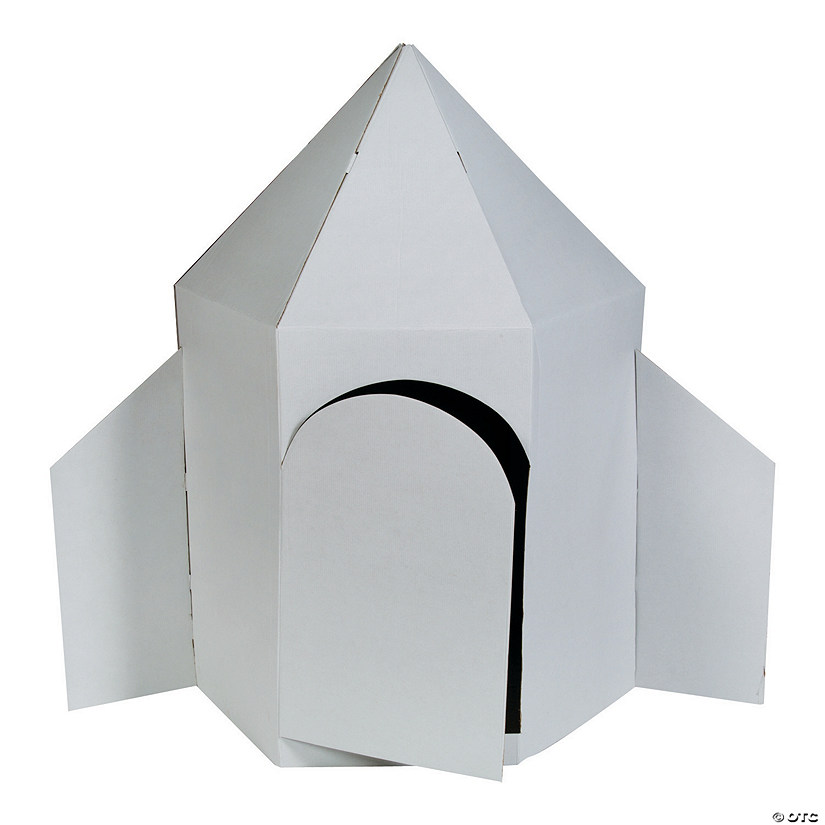DIY Rocket Ship Playhouse Image Thumbnail