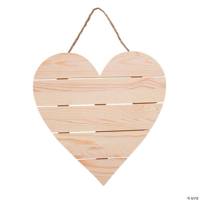 DIY Unfinished Wood Plank Heart Sign Audio Thumbnail