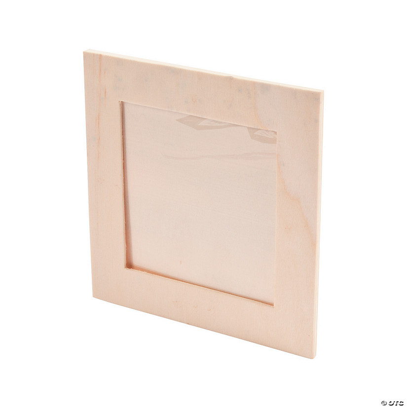 DIY Unfinished Wood Square Frames Image Thumbnail