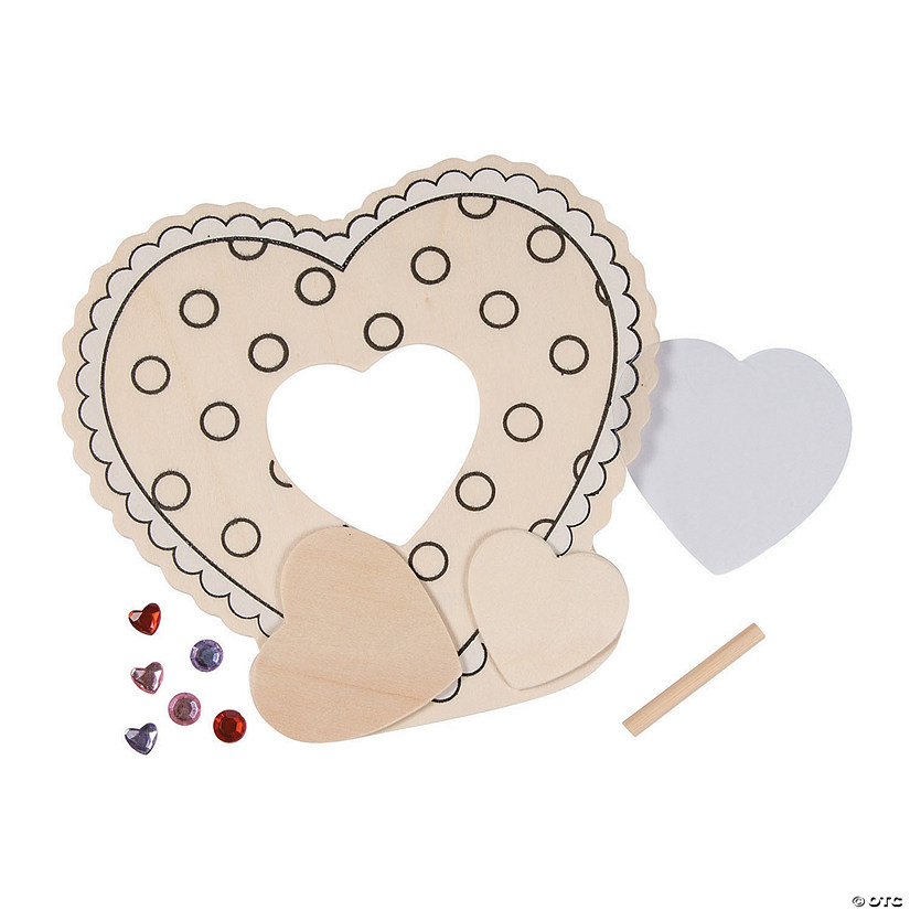 DIY Valentine Picture Frame Craft Kit