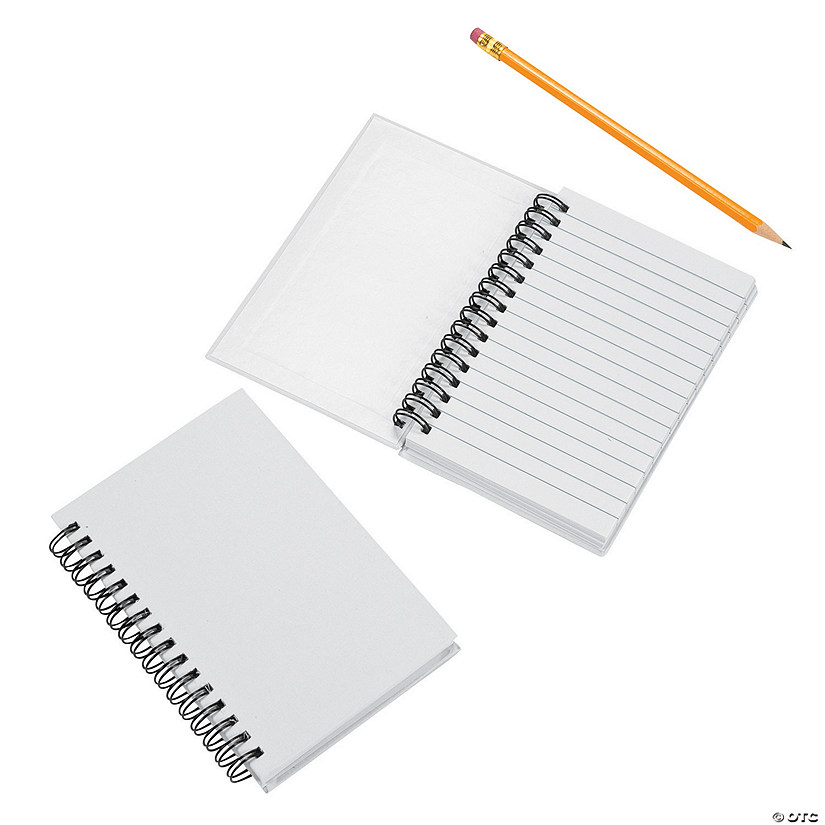 DIY White Canvas Spiral Notebooks Audio Thumbnail