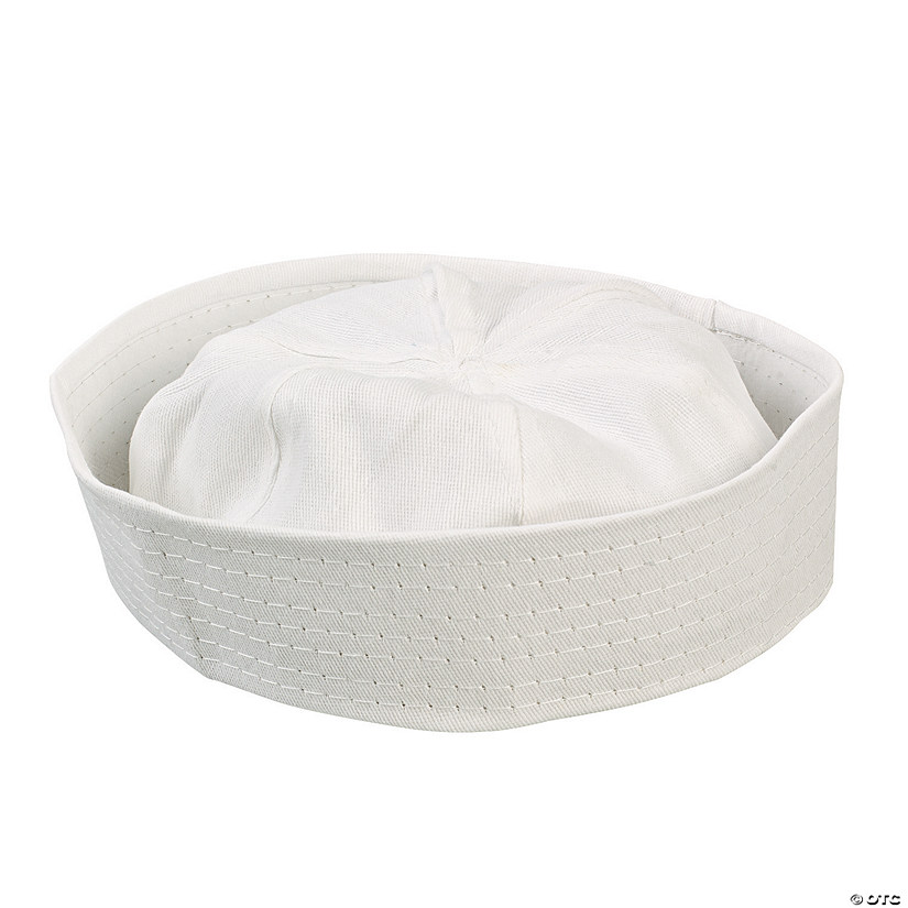 DIY White Sailor Hats - 48 pcs.