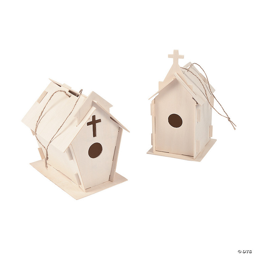 DIY Wood Beautiful Church Birdhouses Audio Thumbnail
