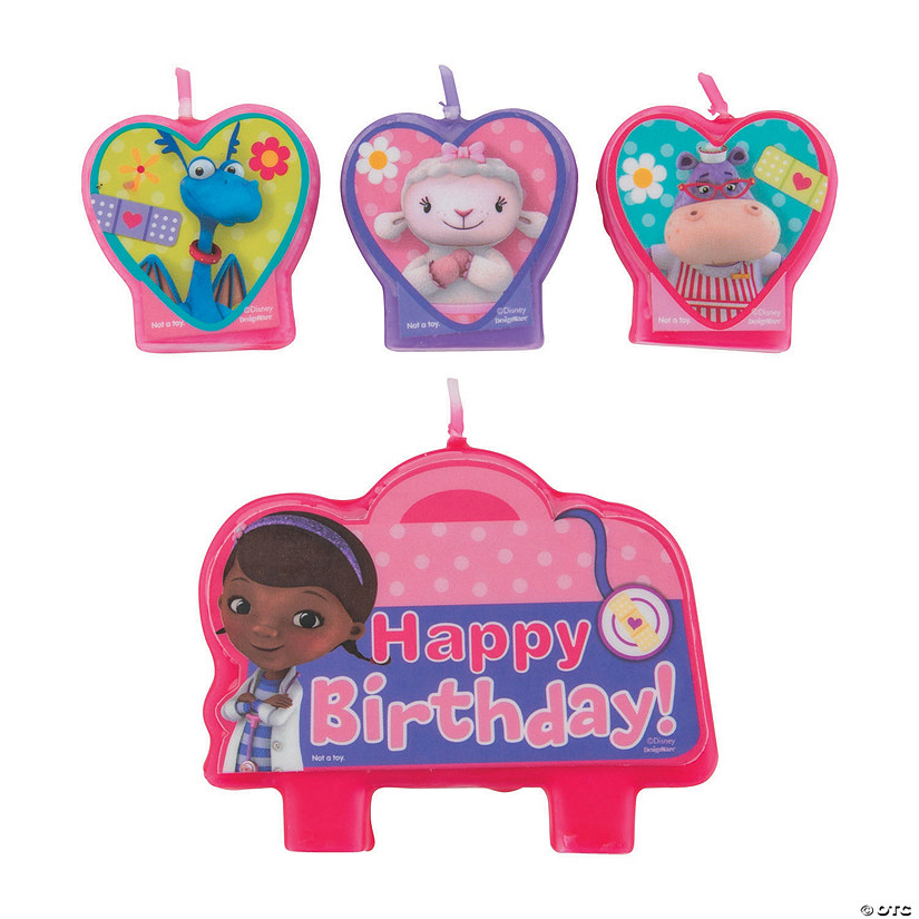 Doc McStuffins Birthday Candles
