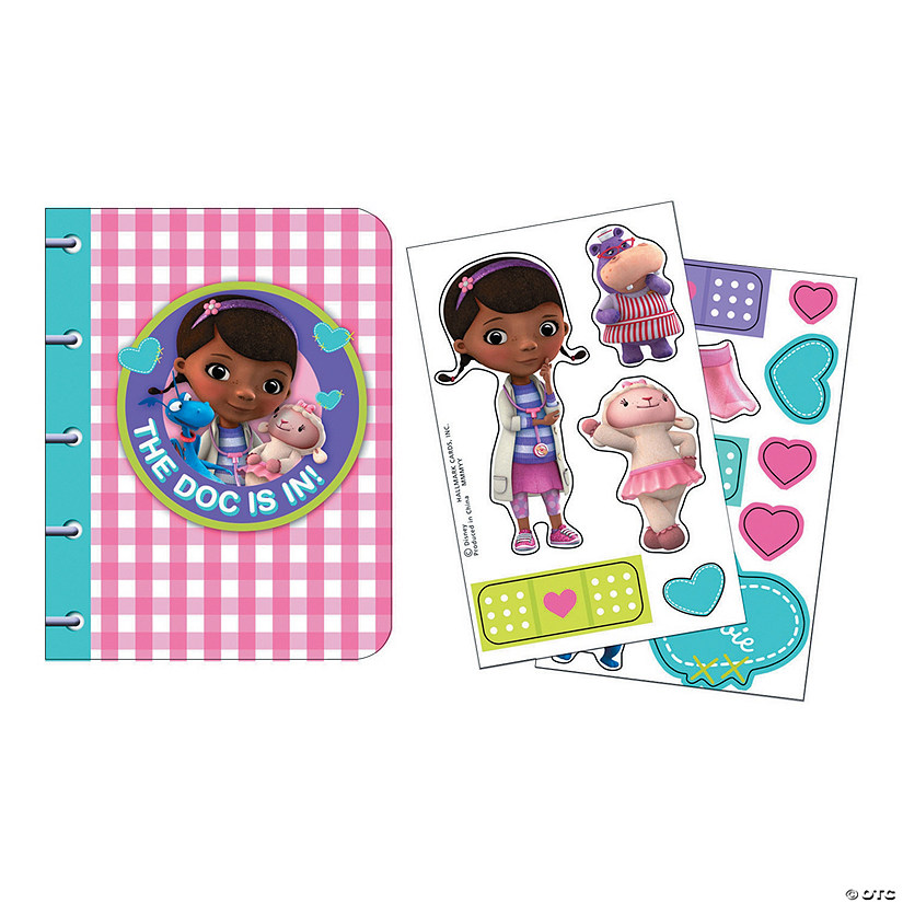 Doc McStuffins Sticker Notebooks