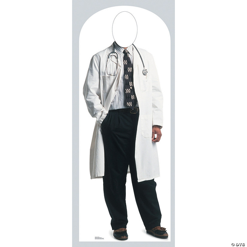 Doctor Cardboard Stand-In Stand-Up