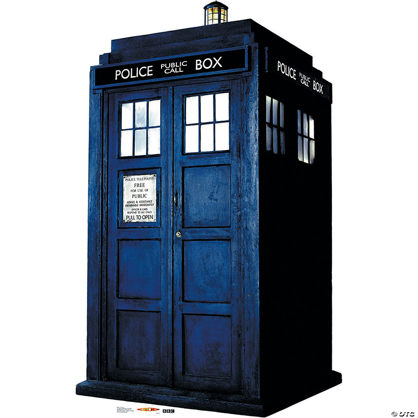 Doctor Who Tardis Cardboard Stand-Up
