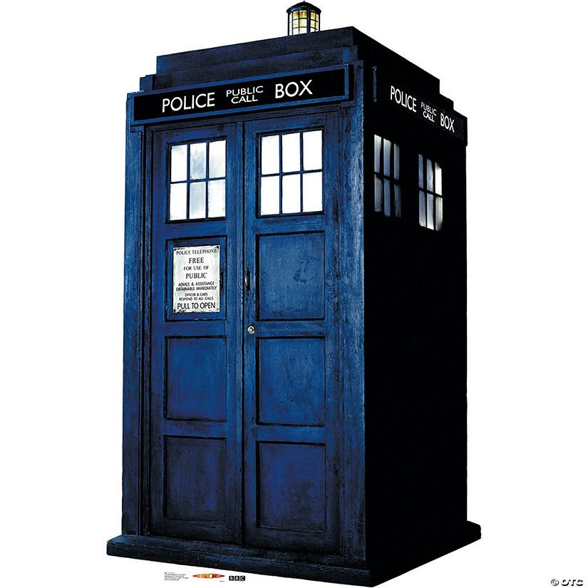 doctor who tardis cardboard stand up