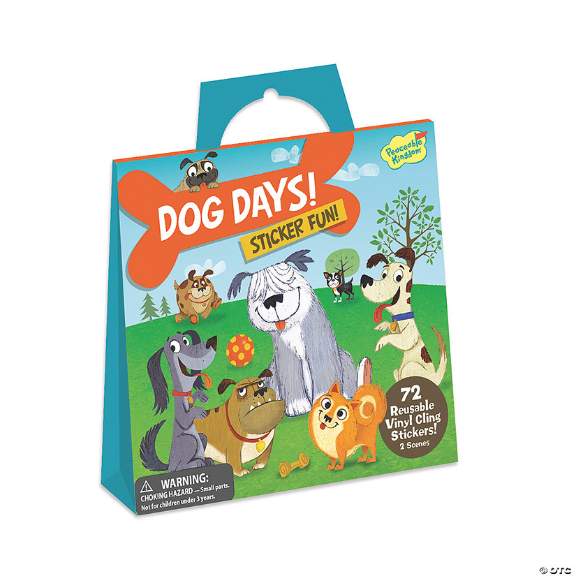Dog Days Reusable Sticker Tote Image Thumbnail