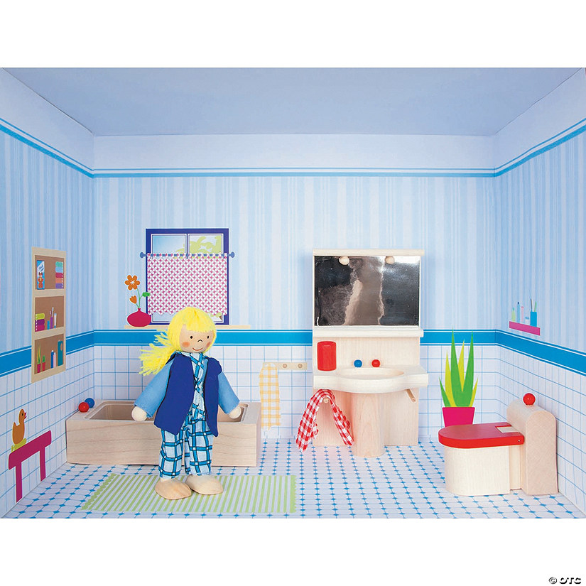 Doll House Rooms: The Bathroom Image Thumbnail