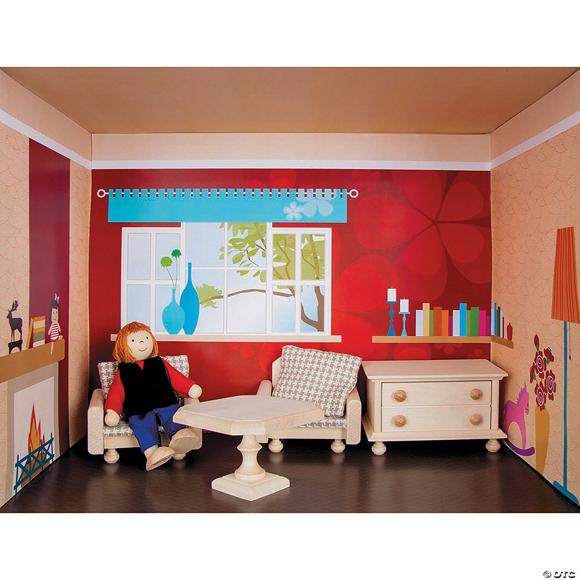 Doll House Rooms: The Living Room