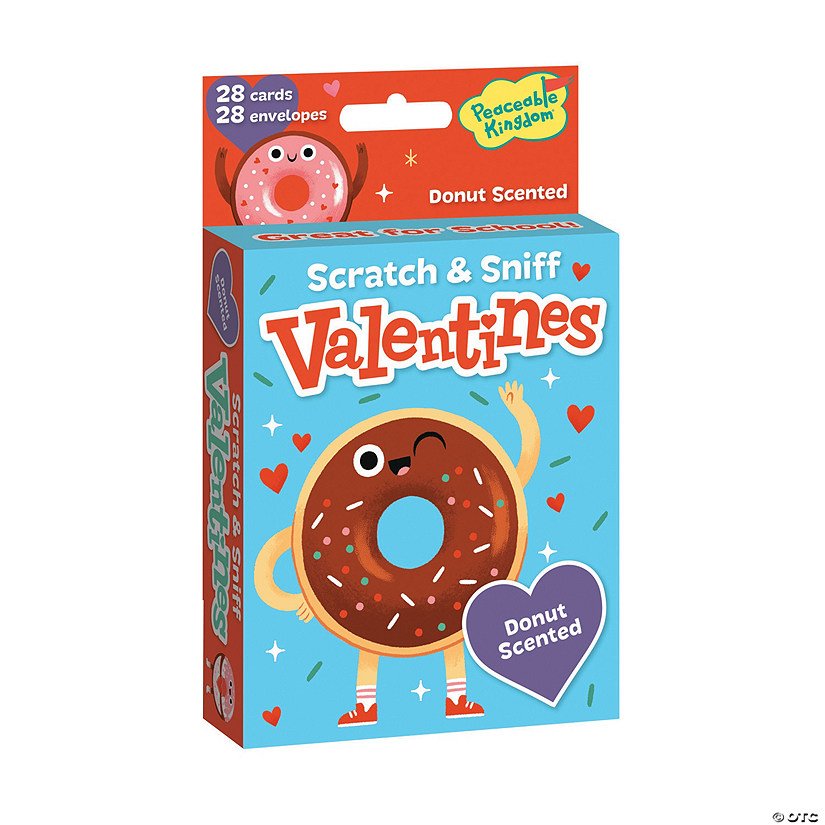 Donut Scratch & Sniff Valentines Image Thumbnail