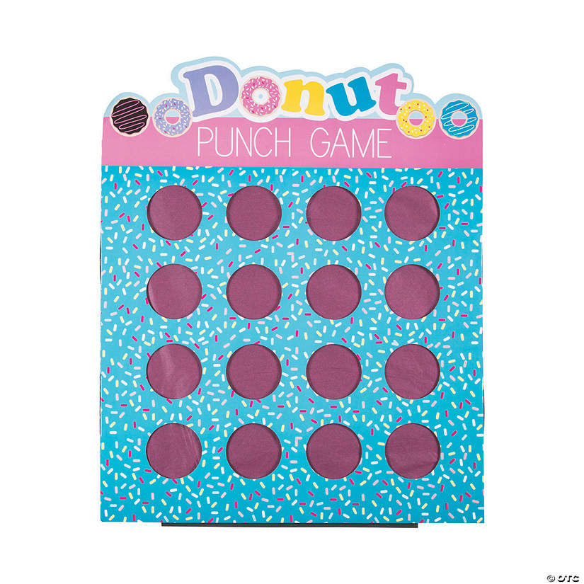 Donut Sprinkles 16-Hole Prize Punch Game Audio Thumbnail