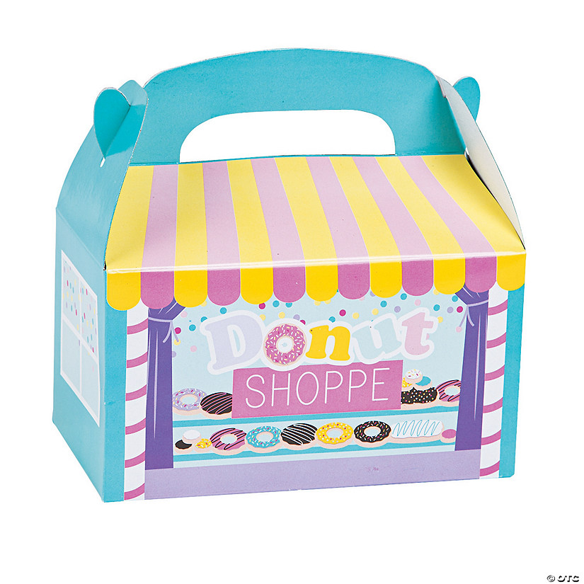 Donut Sprinkles Treat Boxes Image Thumbnail