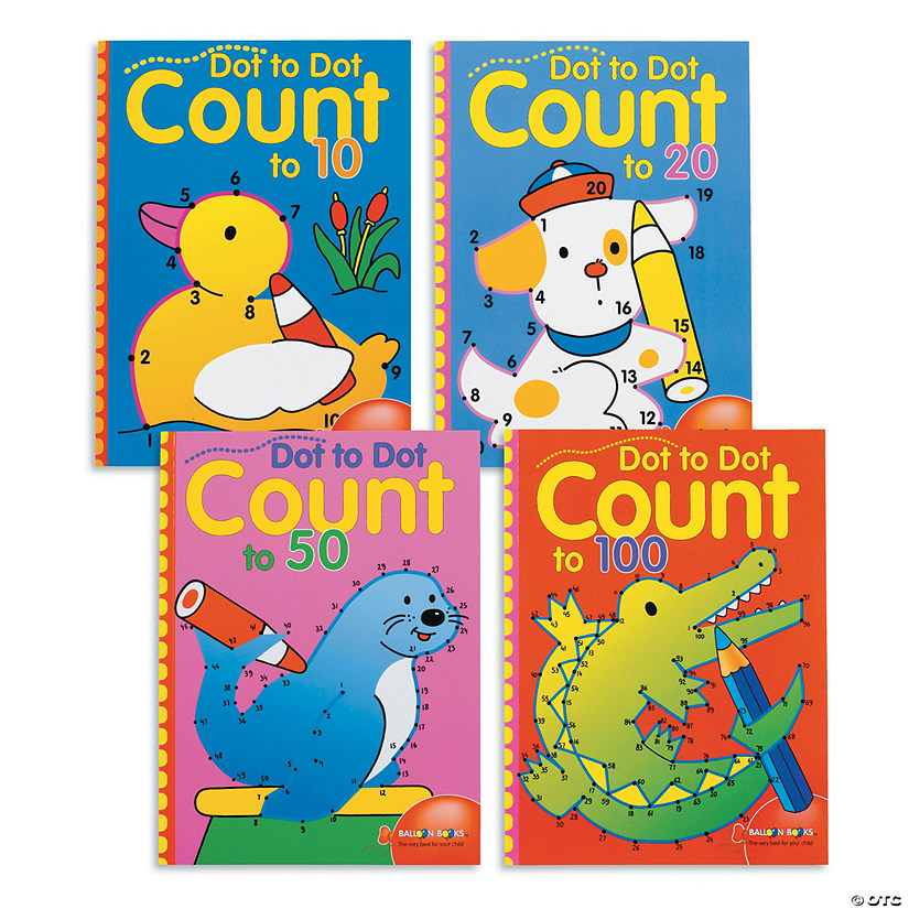Dot to Dot Counting Books: Set of 4 Audio Thumbnail