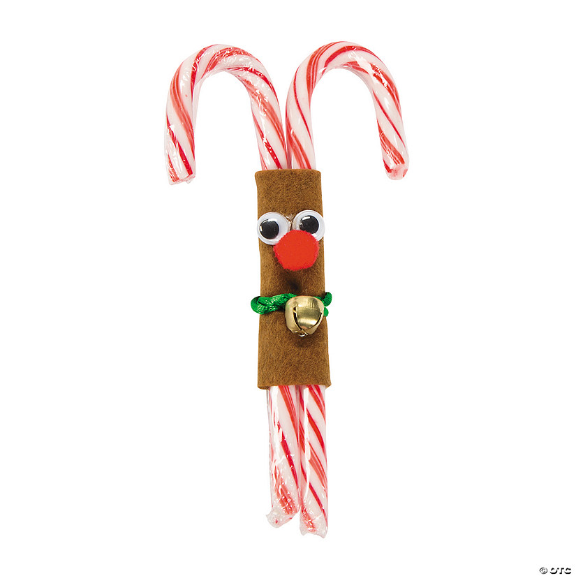 Double Candy Cane Reindeer Craft Kit Audio Thumbnail