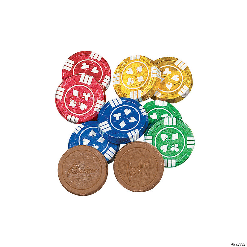 Double Crisp® Poker Chips Chocolate Candy