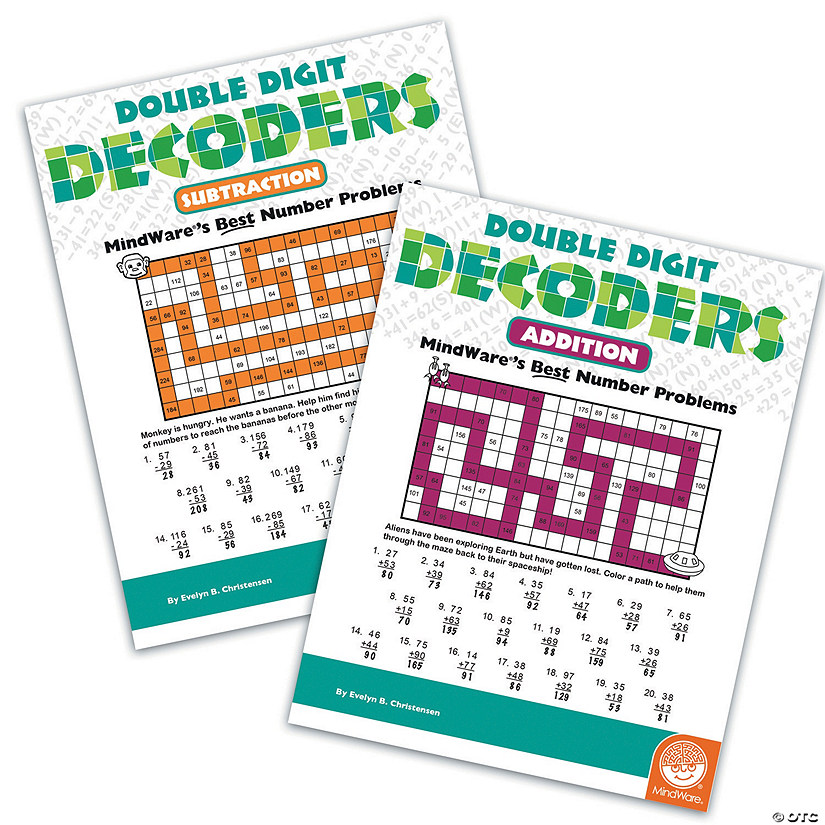 Double Digit Decoders: Set of 2 Audio Thumbnail