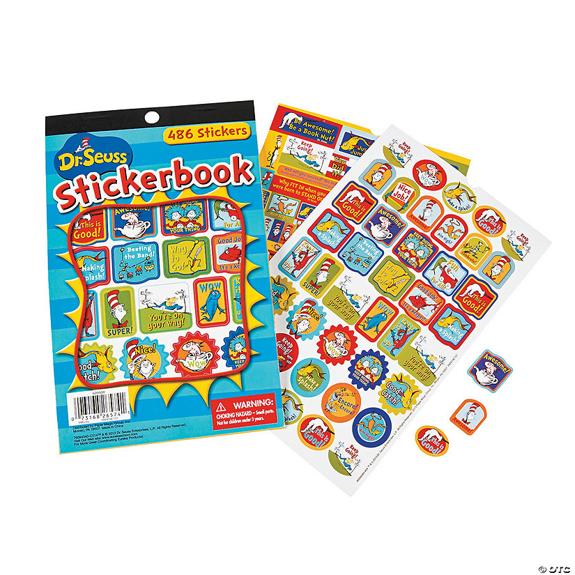 Dr. Seuss™ Awesome Sticker Book Audio Thumbnail