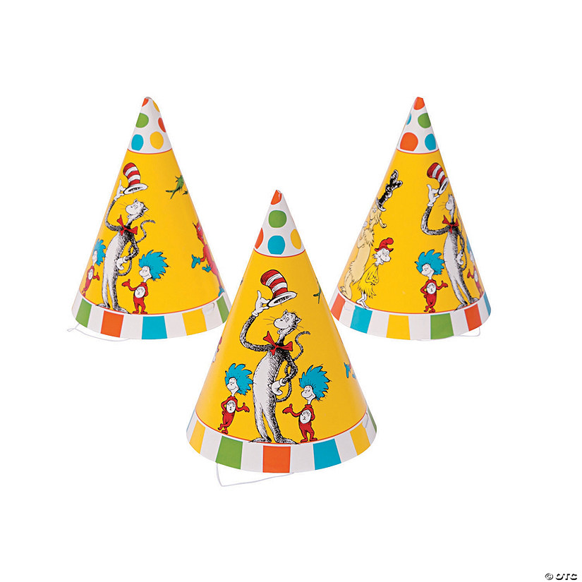 Dr. Seuss™ Cone Party Hats Audio Thumbnail