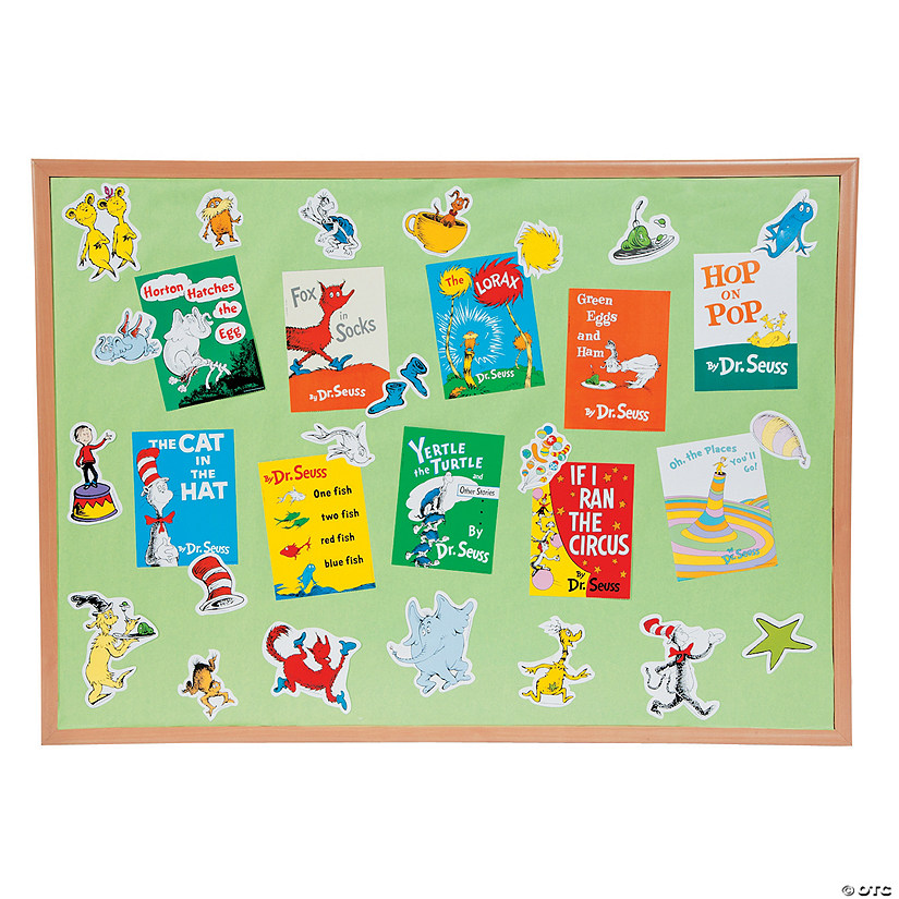 Dr. Seuss™ Favorite Books Mini Bulletin Board Set Image Thumbnail