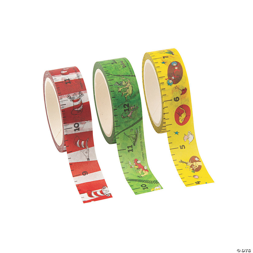 Dr. Seuss™ Lesson Plan Tape Image Thumbnail