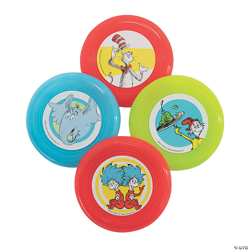 Dr. Seuss™ Mini Flying Discs Image Thumbnail