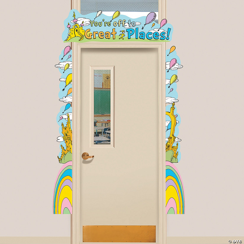Dr. Seuss™ Oh, the Places You'll Go Door Border Set Image Thumbnail