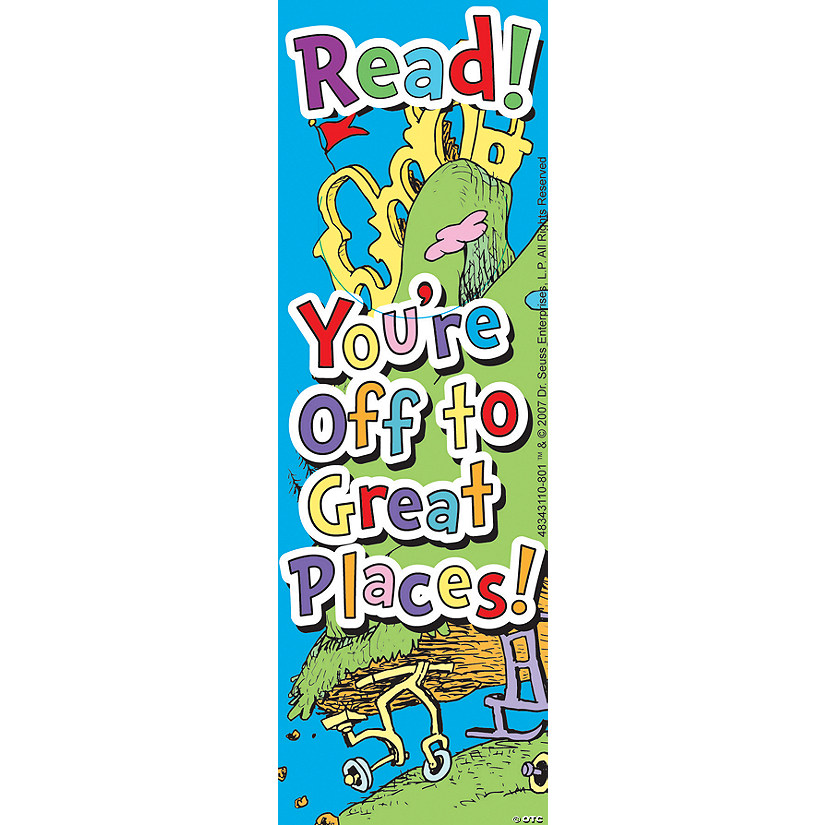 Dr. Seuss™ Oh, the Places You'll Go! Bookmarks Image Thumbnail