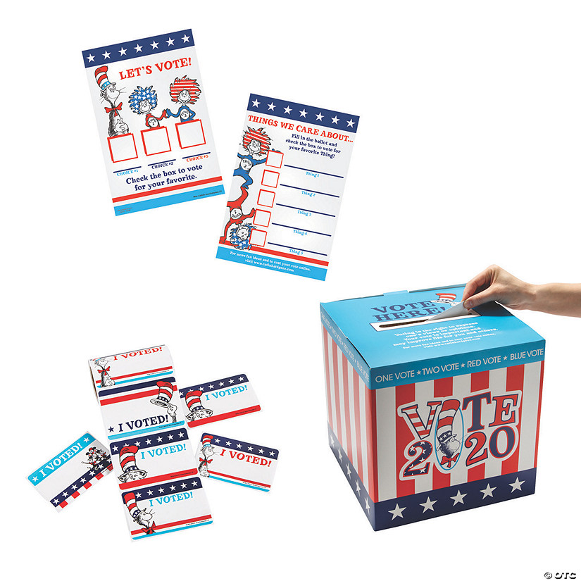 Dr. Seuss™ The Cat In The Hat™ For President Election Kit Image Thumbnail
