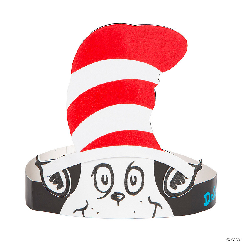 Dr. Seuss™ The Cat in the Hat™ Headband Craft Kit Image Thumbnail