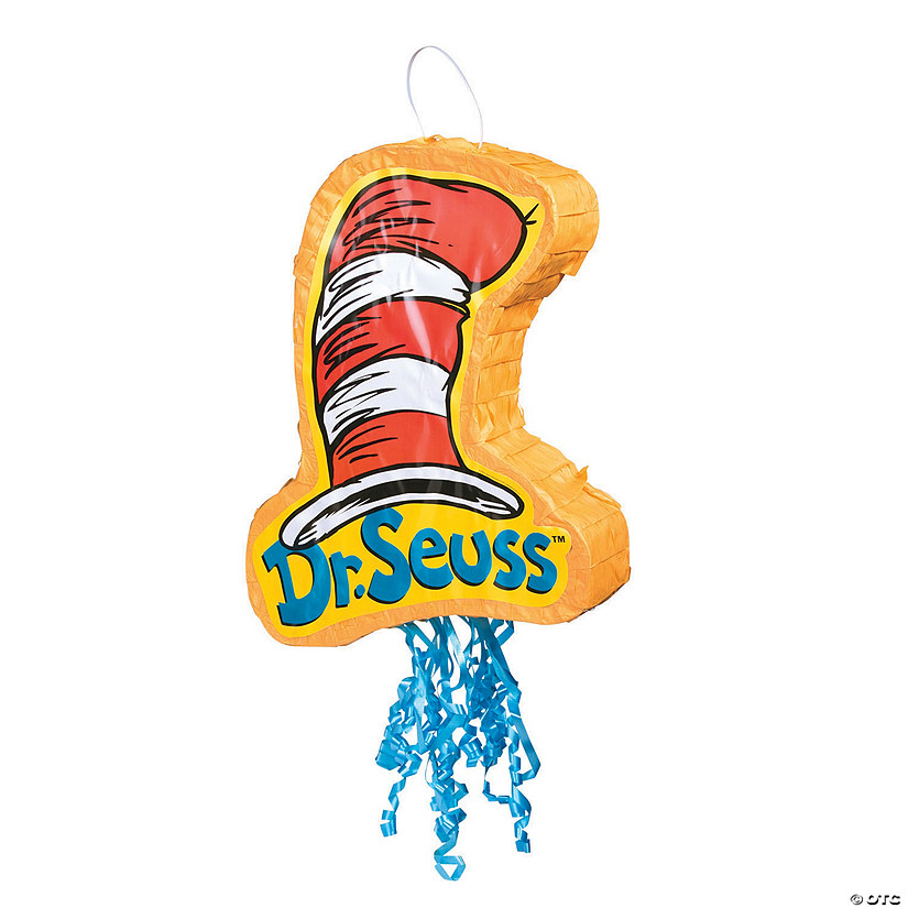 Dr. Seuss™ The Cat in the Hat™ Pull-String Piñata Image Thumbnail
