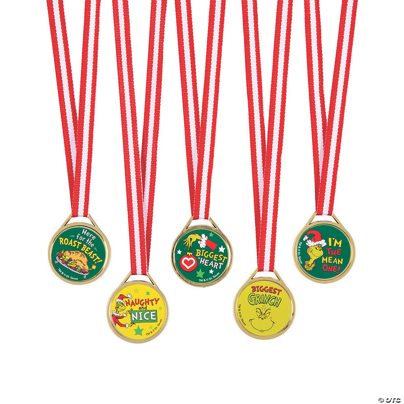 Dr. Seuss™ The Grinch Award Medals Image Thumbnail