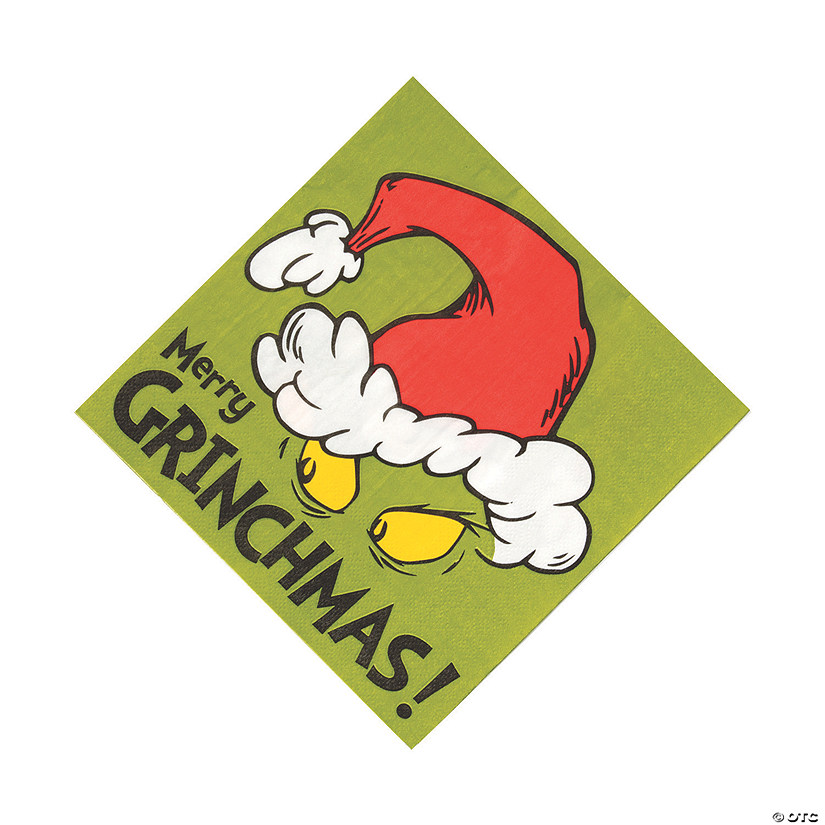 Dr. Seuss™ The Grinch Luncheon Napkins Image Thumbnail