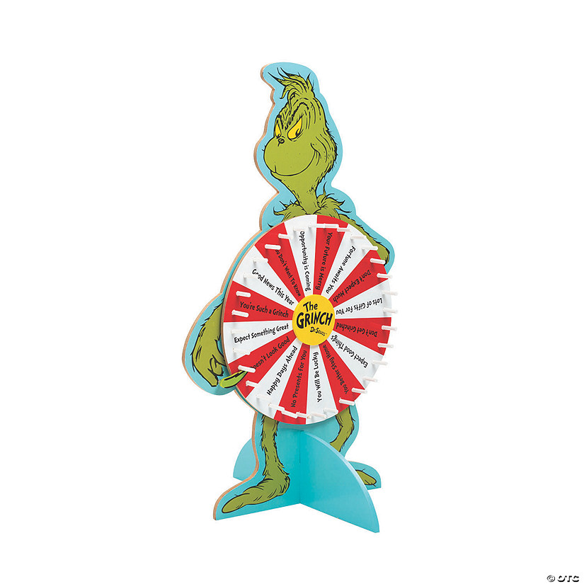 Dr. Seuss™ The Grinch Prize Wheel Image Thumbnail