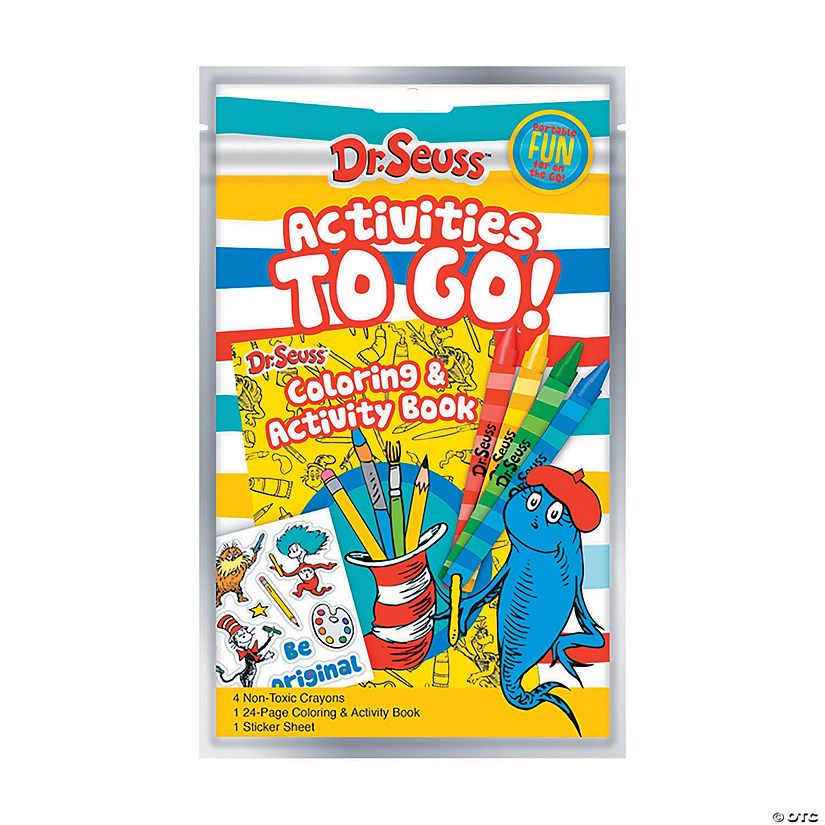 Dr. Seuss™ Activities To Go Coloring Sets Audio Thumbnail