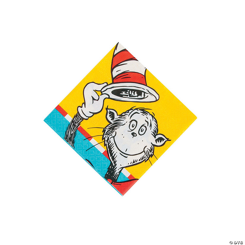 Dr. Seuss™ Beverage Napkins